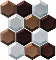 Shimmering Breeze Series Mild Energy SHM693 Beveled Hexagon Tile