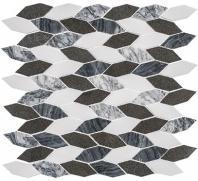Colonial Series Presidential Grey CLNL280 Long Hexagon Tile