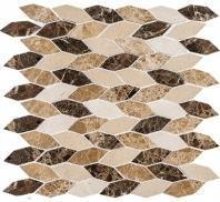 Colonial Series Rock Haven CLNL283 Long Hexagon Tile