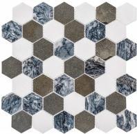 Colonial Series Presidential Grey CLNL270 Hexagon Tile