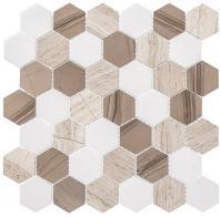Colonial Series Bay Colony CLNL271 Hexagon Tile