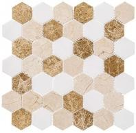 Colonial Series Providence Pier CLNL274 Hexagon Tile