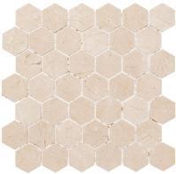 Colonial Series Village Square CLNL279 Hexagon Tile