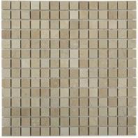 Soho Studio Crema Marfil Series 3/4 x 3/4 Squares Polished Marble Tile