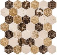 Colonial Series Rock Haven CLNL273 Hexagon Tile