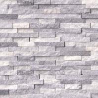 MSI Alaskan Gray Splitface Marble Mosaic SMOT-ALGRY-SFIL10MM