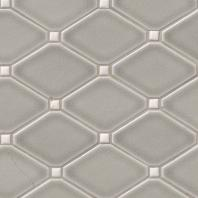 MSI Highland Park Dove Gray Diamond Ceramic Backsplash SMOT-PT-DG-DIAMOND