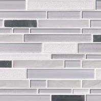 MSI Krystal Interlocking Pattern Mosaic Backsplash SMOT-GLSMTIL-KRY8MM