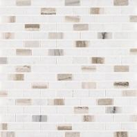 MSI Palisandro Mini Brick Marble Backsplash SMOT-PALI-MB10MM