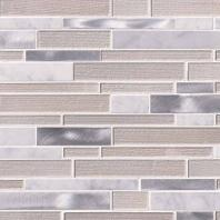 MSI White Wave Interlocking Mosaic Backsplash SMOT-SGLSMTIL-WHTWA4MM