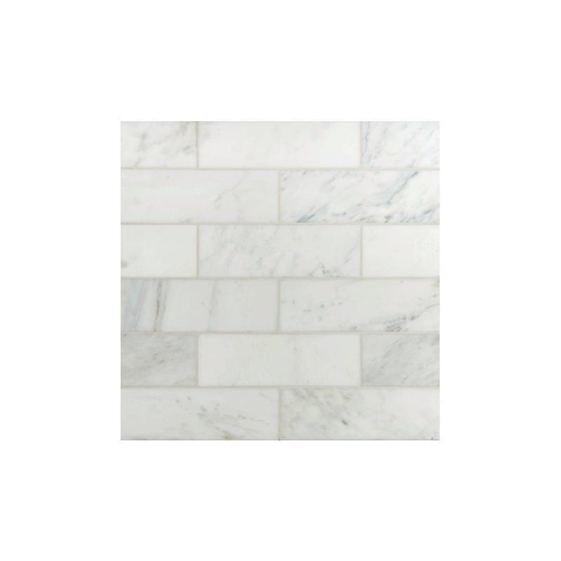 Msi Arabescato Carrara 4x12 Subway Tile Taracar412h Home