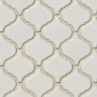 MSI Bianco Arabesque Tile Backsplash SMOT-PT-BIANCO-ARABESQ