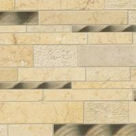 MSI Cairo Blend Interlocking Pattern Tile Backsplash SMOT-SGLSMTIL-CAIBLND8MM