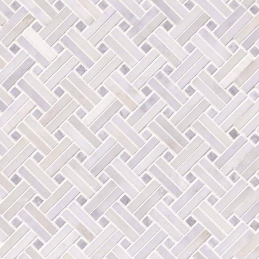 Msi Greecian White Basketweave Pattern Tile Backsplash Smot Gre Bw2p