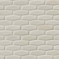 MSI Highland Park Antique White Elongated Hex Tile Backsplash SMOT-PT-AW-HEXEL