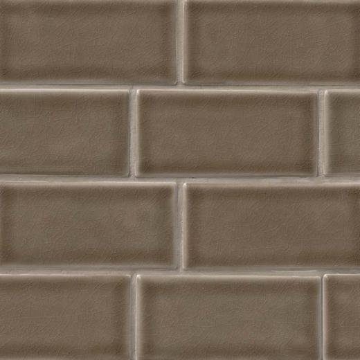 Msi Highland Park Artisan Taupe Glazed Subway Tile