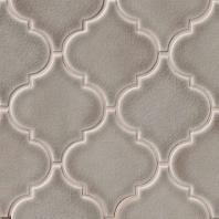 MSI Highland Park Dove Gray Arabesque Tile Backsplash SMOT-PT-DG-ARABESQ