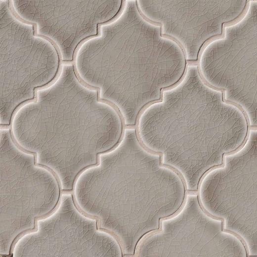 Msi Highland Dove Gray Arabesque Tile Backsplash Smot Pt