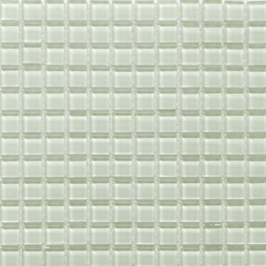 Piazza Series Delicate Mint Glass Tile