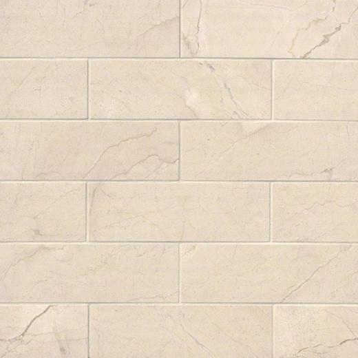 MSI Crema Marfil 4x12 Subway Tile Backsplash TCREMAR412P