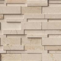 MSI Crema Marfil Hedron Tile Backsplash SMOT-HEDRON-3DIL