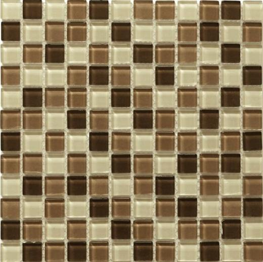 Mosaic Tile Piazza Cafe Mocha