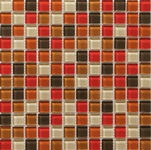 Piazza Series Mediterranean Sun Glass Tile