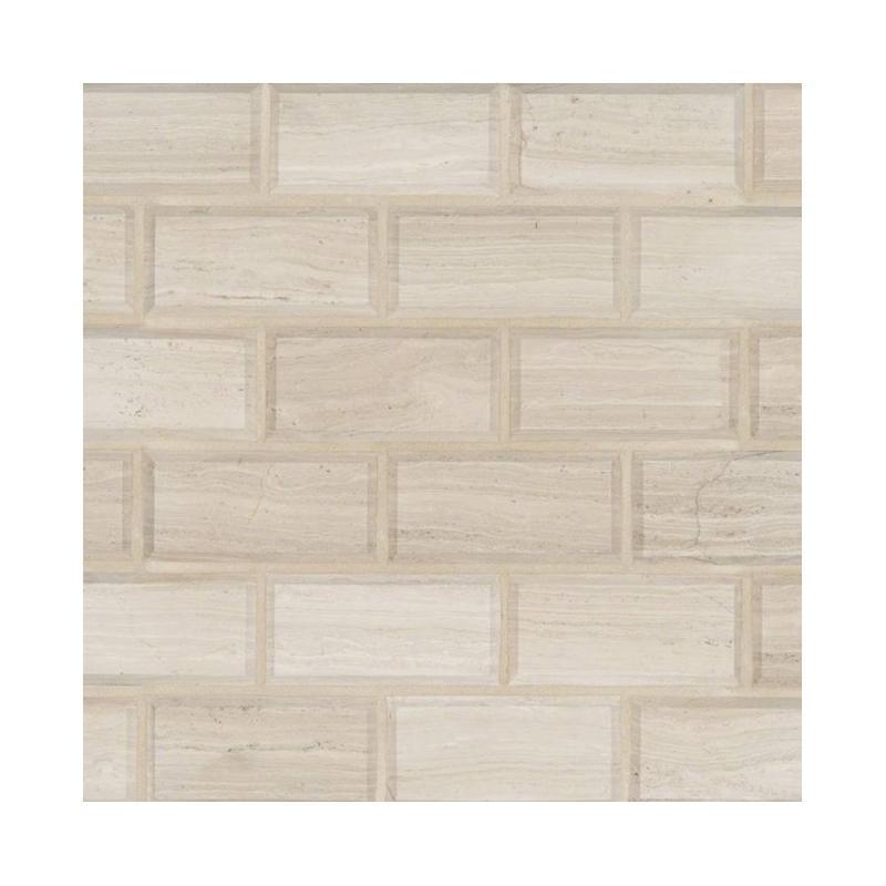 Msi White Oak 2x4 Subway Tile Backsplash Smot Whtoak 2x4hb
