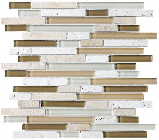 Bliss Linear BAMBOO MOSAIC