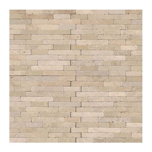Chiaro Tile Backsplash: MSI Chiaro Travertine Tumbled Veneer Tile Backsplash VNR
