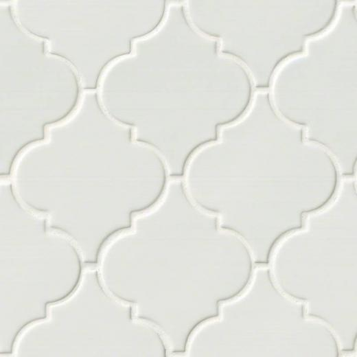 Backyard Gas Fire Pit Ideas, Msi Highland Whisper White Arabesque Tile Backsplash Pt Ww Arabesq
