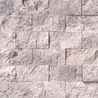 MSI Silver Travertine Tile Backsplash SMOT-SILTRA-2X4SF
