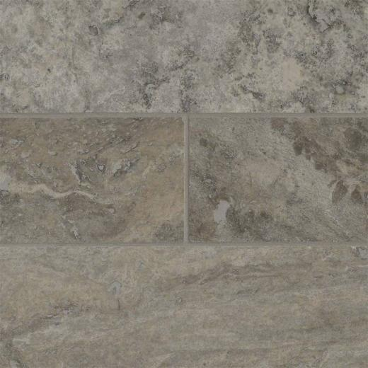 Silver Travertine Backsplash: MSI Silver Travertine 4x12 Subway Tile Backsplash