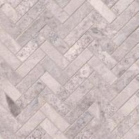 MSI Silver Travertine Herringbone Tile Backsplash SMOT-SILTRA-HBH