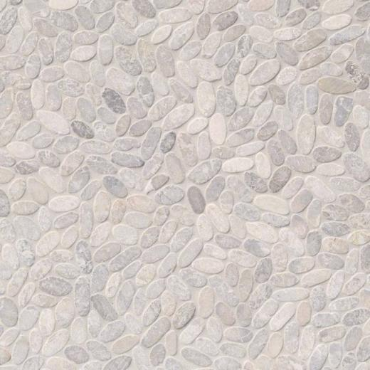 Msi Sliced Pebble Ash Tile Backsplash Smot Peb Ash Home