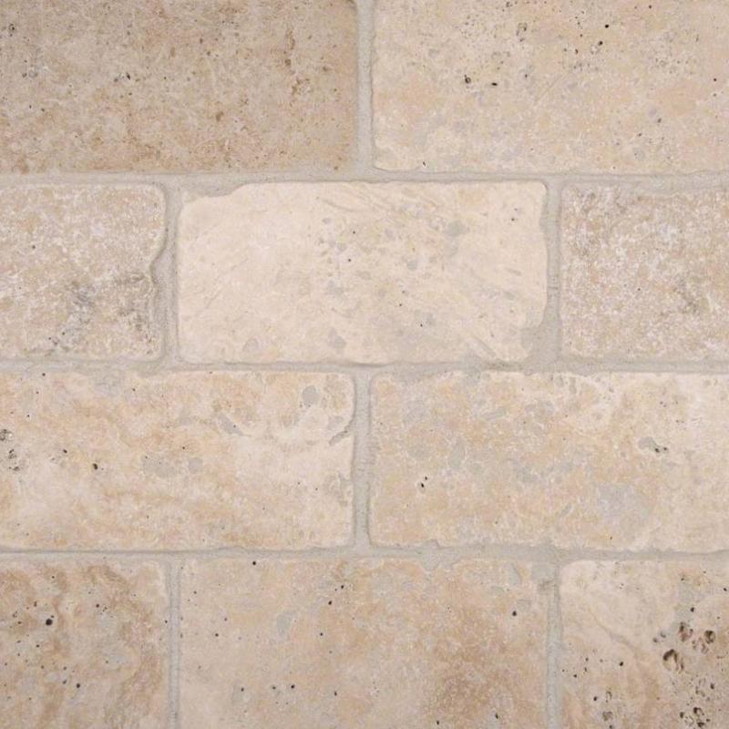 Msi Tuscany Classic 3x6 Subway Tile Backsplash Ttbeig36t Home Decor Az