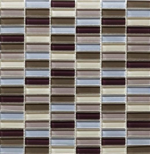 Mosaic Tile Aria Berry Wine