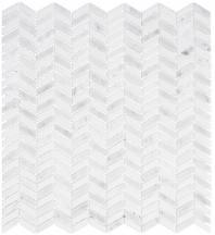 Glasstile Covered Bridges Series Mystical Arches Chevron Mosaic Tile CVB361