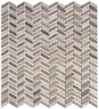 Glasstile Covered Bridges Series Madison County Chevron Mosaic Tile CVB363