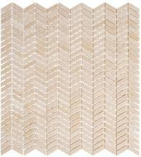 Glasstile Covered Bridges Series Cascade Stream Chevron Mosaic Tile CVB366