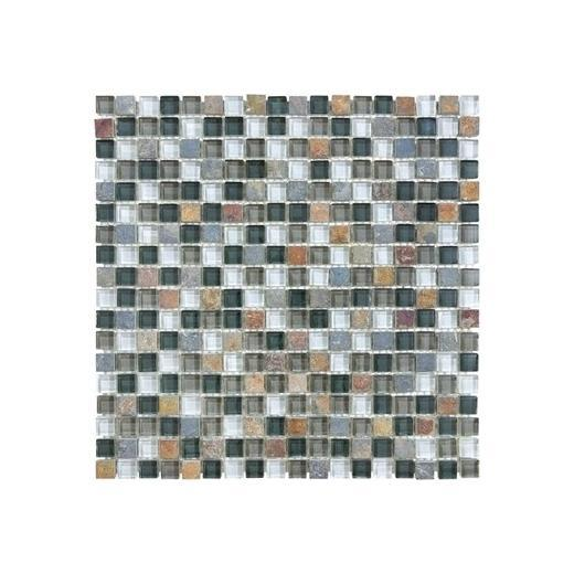 "Bliss 5/8""x5/8"" SMOKY MICA MOSAIC"