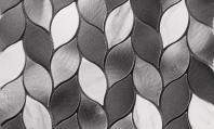 Martini Mosaic Allara Series White Cypress Mosaic Tile MLW1