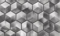Martini Mosaic Favo Series Apollo Metal Hexagon Backsplash MH01