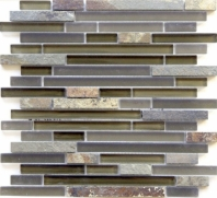 Eleganza Tucson Brick Interlocking Mosaic Tile GL3173