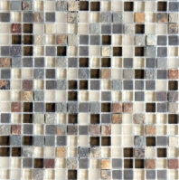Eleganza Glendale Square Stacked Mosaic Tile GL3161