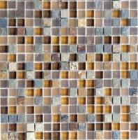 Eleganza Mesa Square Mosaic Tile GL3162