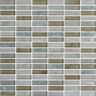 Eleganza Autumn Stacked Mosaic Tile GLB002