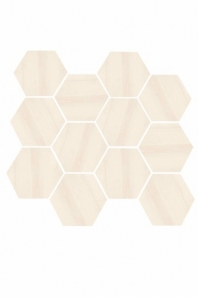 Eleganza Beige Matte Marble Look Hexagon Tile YI6S1211-HEX