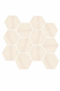 Eleganza Beige Matte Marble Look Hexagon Tile YI6S1211-HEX