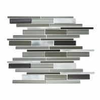 Eleganza Zeta Interlocking Mosaic Tile GL4100